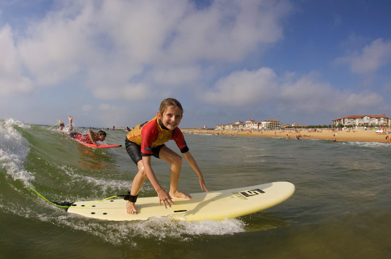 ecole de surf watermansport cours et stages Hossegor