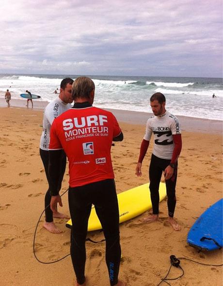 Escuela de surf Watermansport perfeccionamiento