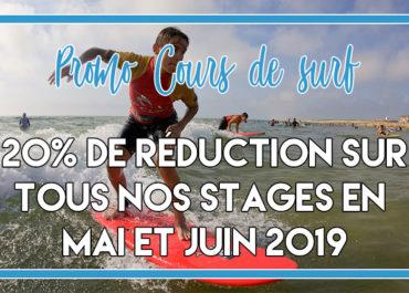 ♂️ PROMO STAGE/COURS DE SURF 2019 ♂️